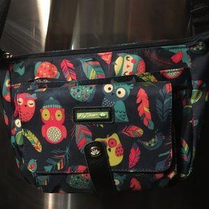 Lily Bloom Small Owl Print Purse - 189 $25 FIRM